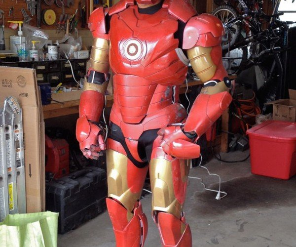 DIY Animatronic Iron Man Suit: Arduino Reactor