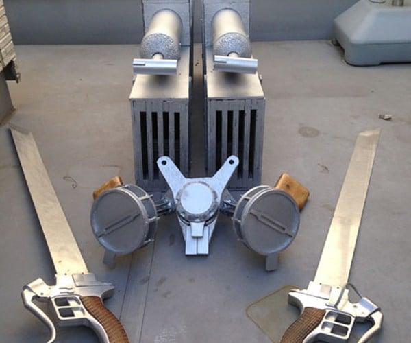 Attack on Titan 3D Maneuver Gear Replica is Ready to Slice Necks