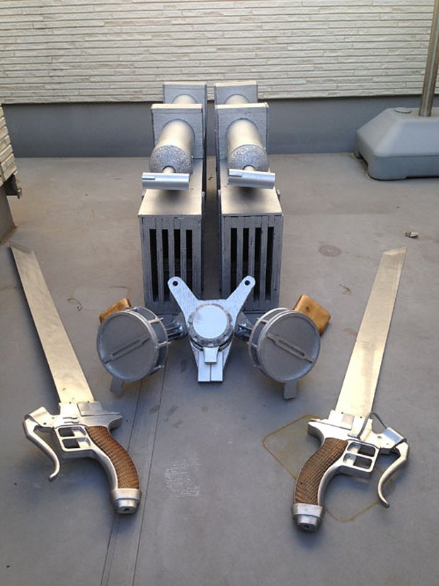 attack on titan shingeki no kyojin 3d maneuver gear replica by joshualawn 2