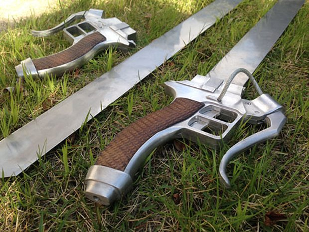 attack on titan shingeki no kyojin 3d maneuver gear replica by joshualawn 3