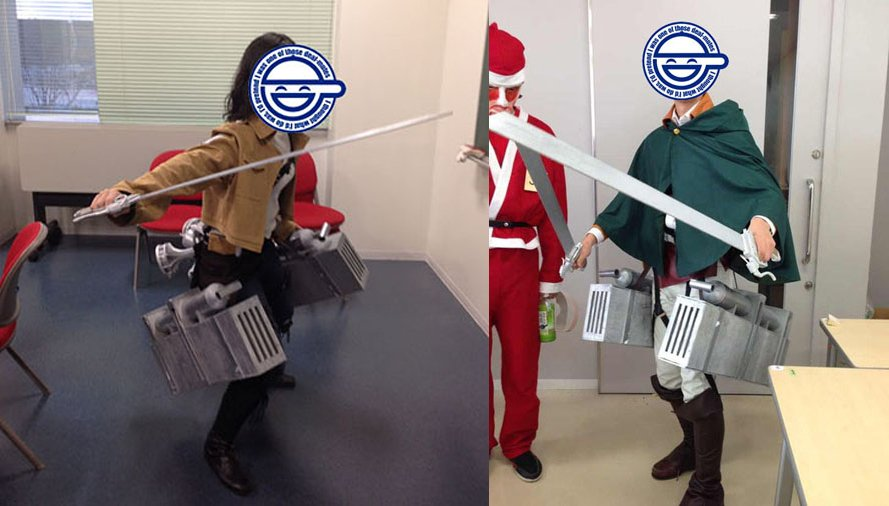 Nissan Leaf Lease >> Attack on Titan 3D Maneuver Gear Replica is Ready to Slice ...