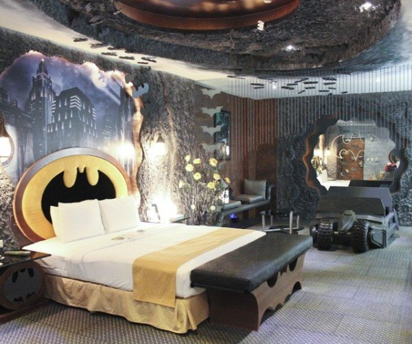 Batman Hotel Room Is a Mini Wayne Manor