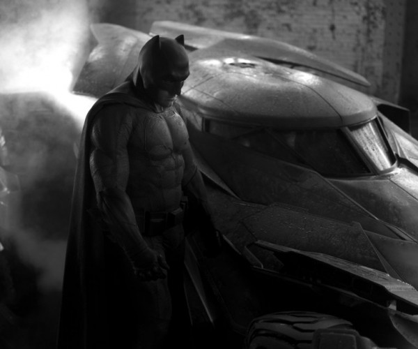 Zack Snyder Unveils the New Bat Suit and the New Batmobile