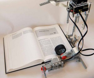 LEGO & Raspberry Pi OCR Hack Now Reads Books Aloud, Still Sounds Horrible