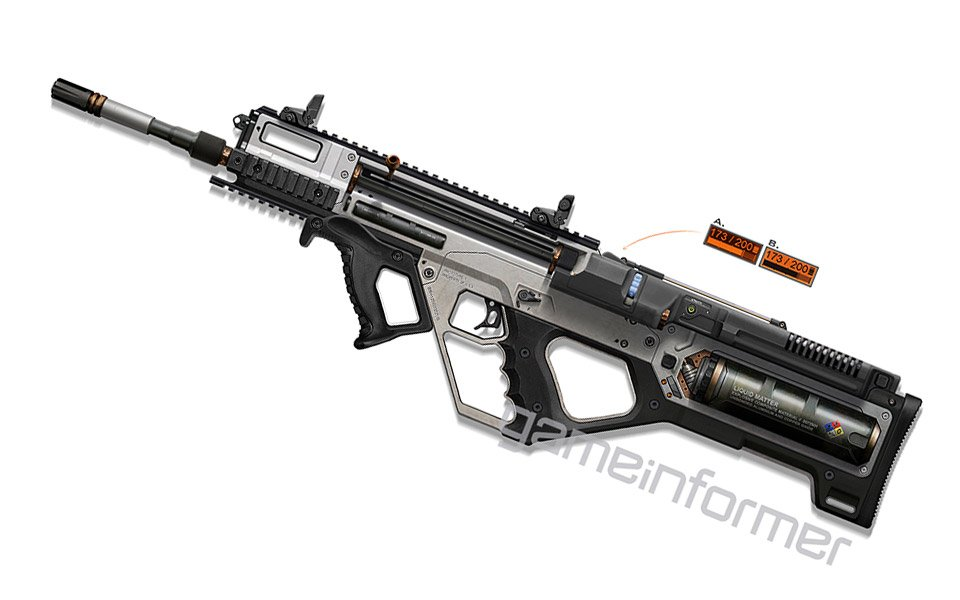 Call of duty advanced warfare gets a rifle that 3d prints ammo