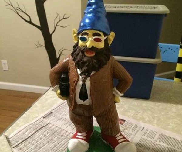 Doctor Who Lawn Gnome: Doctor Huh?