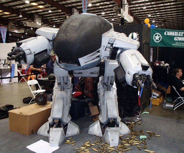 Homemade ED-209: You Have 20 Seconds to Comply