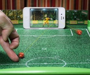 Restaurant Turns Your Food Tray and Smartphone into an Interactive Football Game