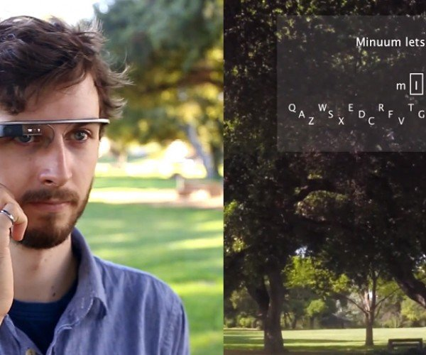 "Google Glass Virtual Keyboard Concept Doesn't Need You to Type ""Okay Glass"" First"