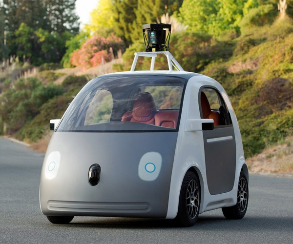 Google Driverless Car Prototype Has No Steering Wheel and 25mph Top Speed