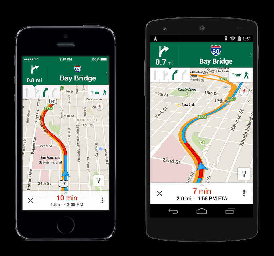 Google Maps 3 0 Update Adds Lane Assistance And More
