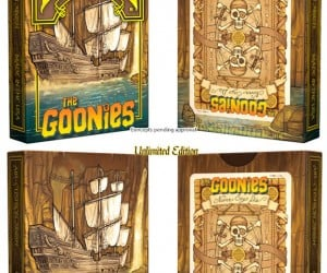The Goonies Playing Cards: Never Say Die or Fold