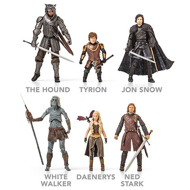 Game of Thrones Action Figures: Dragons not Included - Technabob