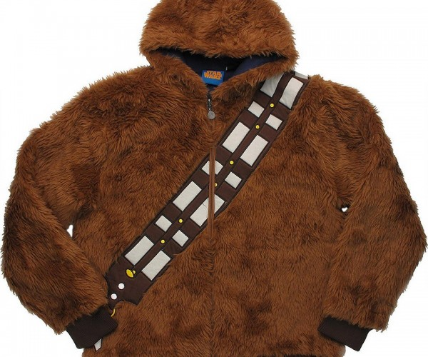 Reversible Chewbacca/Han Solo Hoodie: Better than a Tauntaun for Keeping Warm