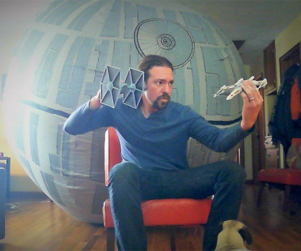 DIY 12-Foot Inflatable Death Star: Your Lack of an Air Compressor is Disturbing
