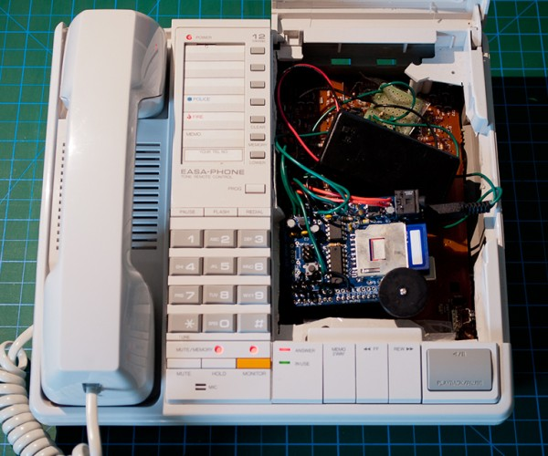 Telephone Art Installation Has Snarky Robot Operator, No Supervisor