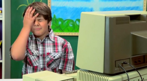 kids react to old computers 620x343
