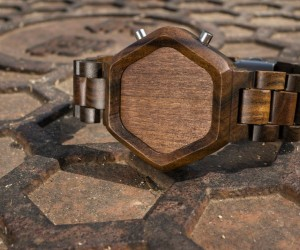 Tokyoflash Kisai Night Vision Wood LED Watch: Burn After Reading