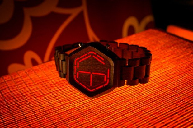 kisai night vision wood led watch from tokyoflash japan 02 620x412