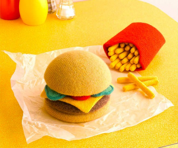 Knitted Food is Extremely High in Fiber