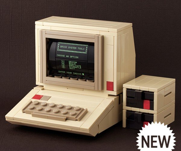 LEGO Apple II: Your Minifig's First Computer