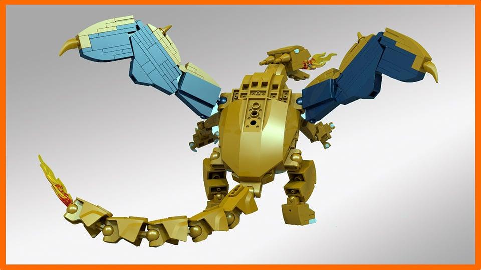 Lego Charizard Concept Pokmon L Technabob