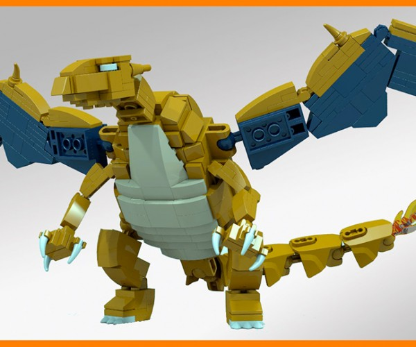 LEGO Charizard Concept: Pokémon L