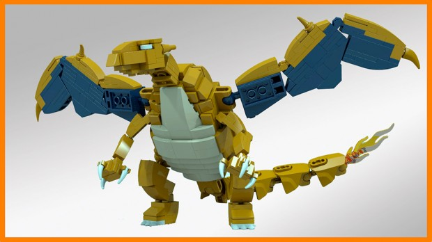 lego charizard concept by lizardman 620x348