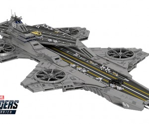 LEGO Helicarrier Concept: Avengers Assemble!.. Assemble Some More!