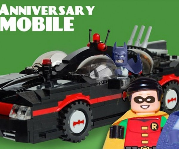 Retro Batmobile Hits LEGO Ideas Website: Vote for It Now!