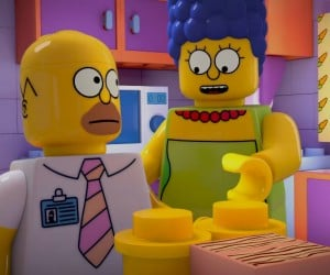 First Look at the LEGO Simpsons Episode