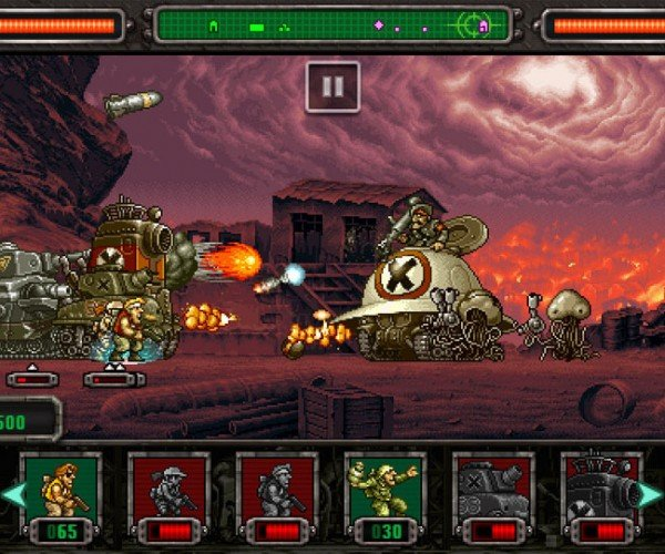 Metal Slug Defense Reminds Us of the Gaming Days of Yore