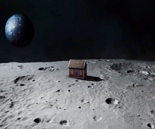 Self-assembling Moon House Could be the First Structure on the Moon's surface