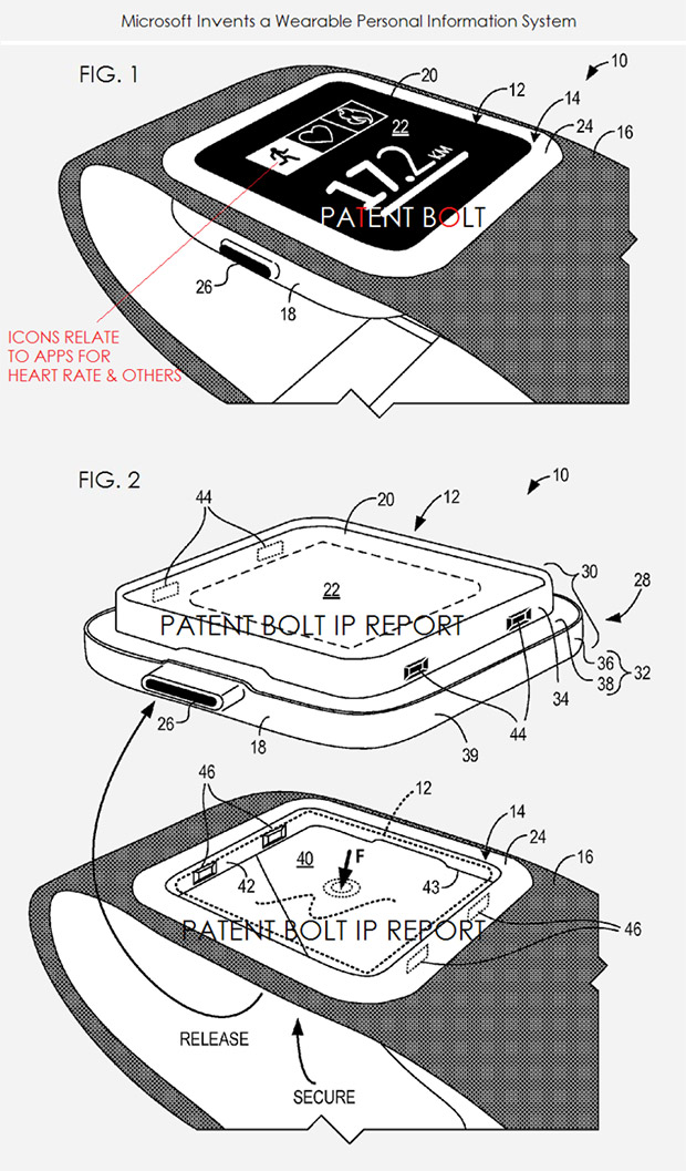 Patent Shows Microsoft is Working on a Smartwatch
