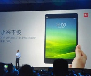Xiaomi Mi Pad is a Cheap iPad Mini Clone