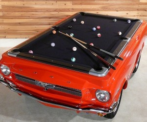 Ford Mustang Pool Tables: Nine Ball, Driver's Side Pocket
