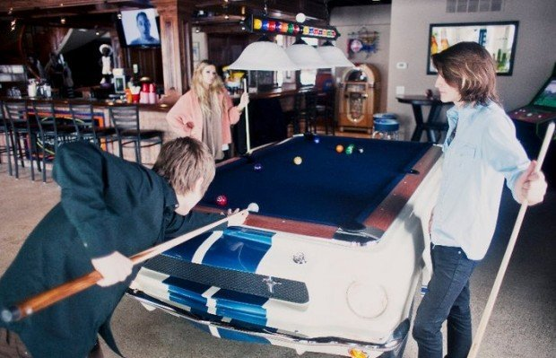 mustang pool table1