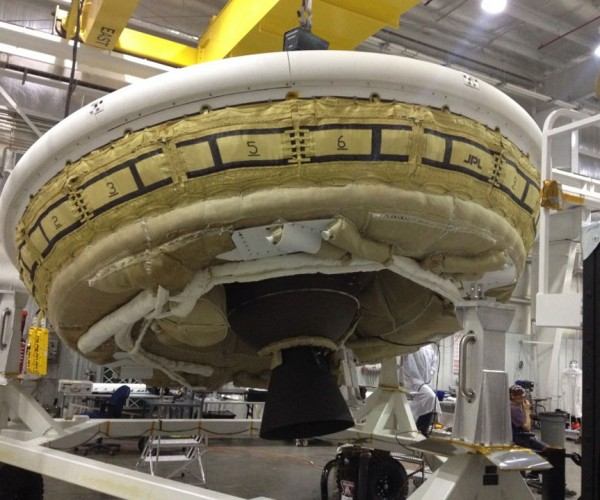 NASA Flying Saucer is Its Latest Experimental Vehicle