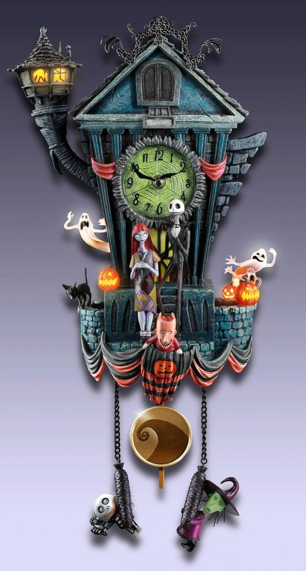 The Nightmare Before Christmas Cuckoo Clock This Is Halloween