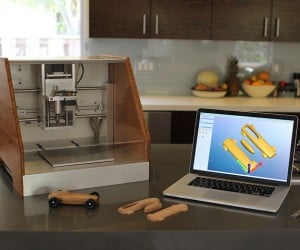 Nomad CNC Mill Turns Desktops into Workshops