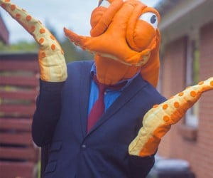 Octodad Cosplay: Who's That Man with the Three-Piece Suit?