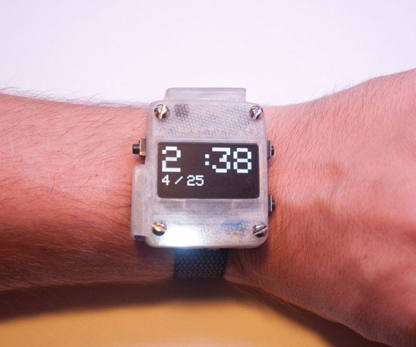 Open Source Watch: Time Consuming Timepiece
