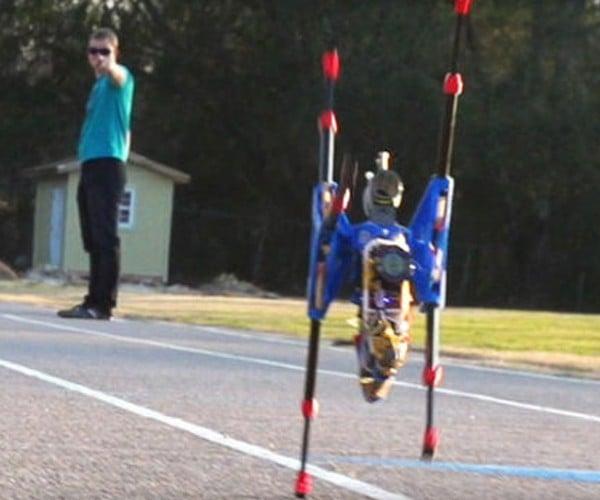 OutRunner Robot Can Run 20mph