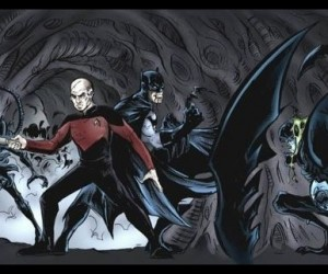 Batman and Captain Picard Fight Aliens: Prometheus: First Contact Rises