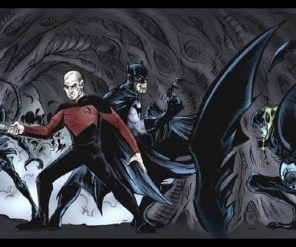 Batman and Captain Picard Fight Aliens: Prometheus: First Contact Rises