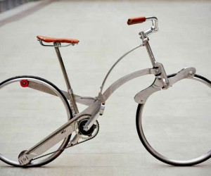 The Sada Bike Folds Down to Almost Nothing