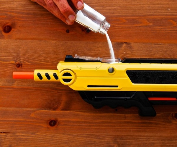 This Salt Firing Shotgun Kills Flies Dead