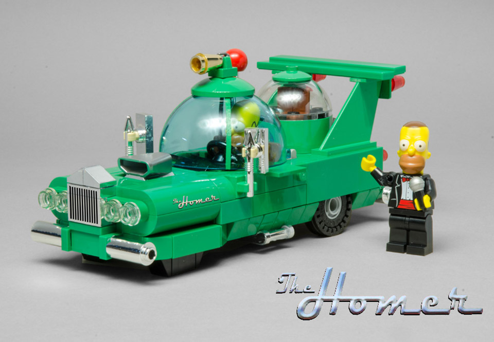 Lego Homer S Car Instructions