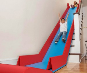 Sliderider Turns Stairs into a Slide: Wheeeeeee!