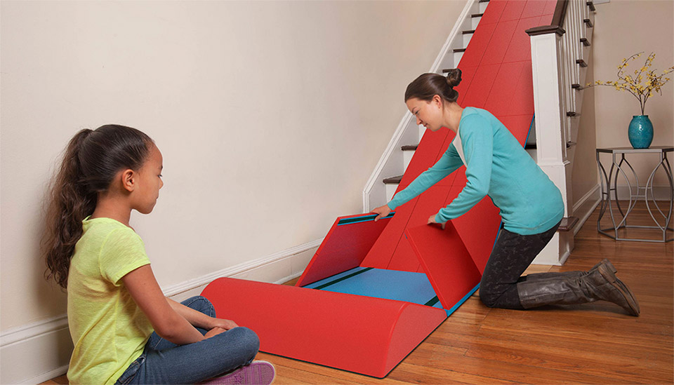Sliderider Turns Stairs Into A Slide Wheeeeeee Technabob
